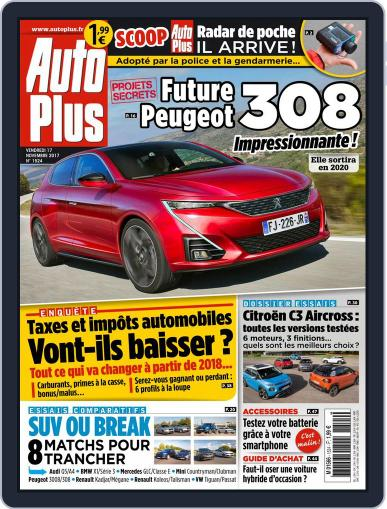 Auto Plus France (Digital) November 17th, 2017 Issue Cover