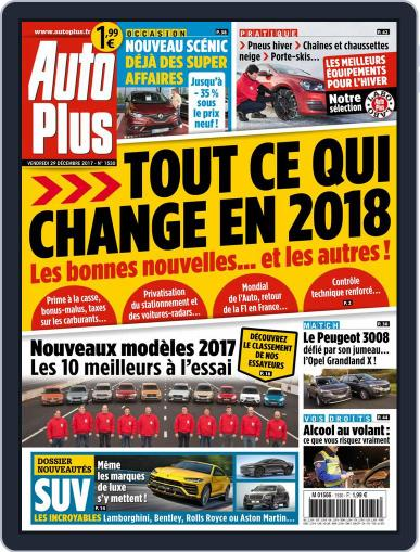 Auto Plus France (Digital) December 29th, 2017 Issue Cover