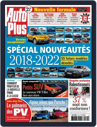 Auto Plus France January 12th, 2018 Digital Back Issue Cover