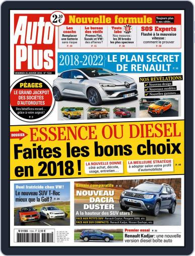 Auto Plus France (Digital) January 26th, 2018 Issue Cover