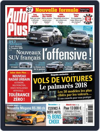 Auto Plus France February 2nd, 2018 Digital Back Issue Cover