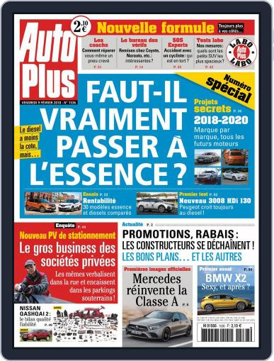 Auto Plus France (Digital) February 9th, 2018 Issue Cover