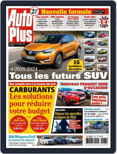 Auto Plus France February 16th, 2018 Digital Back Issue Cover
