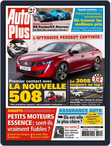 Auto Plus France (Digital) March 9th, 2018 Issue Cover