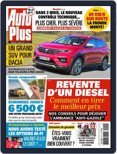 Auto Plus France (Digital) March 16th, 2018 Issue Cover