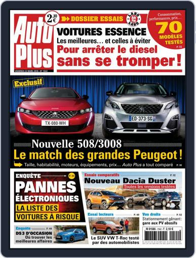 Auto Plus France March 23rd, 2018 Digital Back Issue Cover