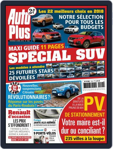 Auto Plus France (Digital) April 6th, 2018 Issue Cover