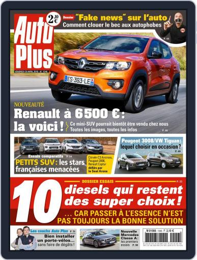 Auto Plus France April 20th, 2018 Digital Back Issue Cover