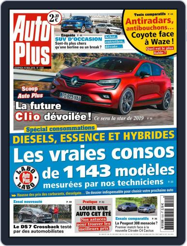 Auto Plus France May 18th, 2018 Digital Back Issue Cover