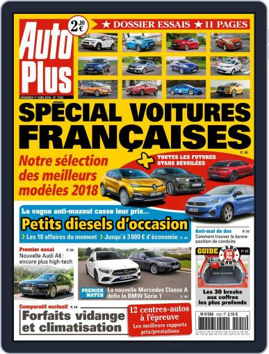 Auto Plus France (Digital) June 1st, 2018 Issue Cover