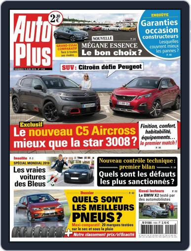 Auto Plus France (Digital) June 15th, 2018 Issue Cover