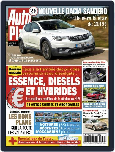 Auto Plus France July 13th, 2018 Digital Back Issue Cover