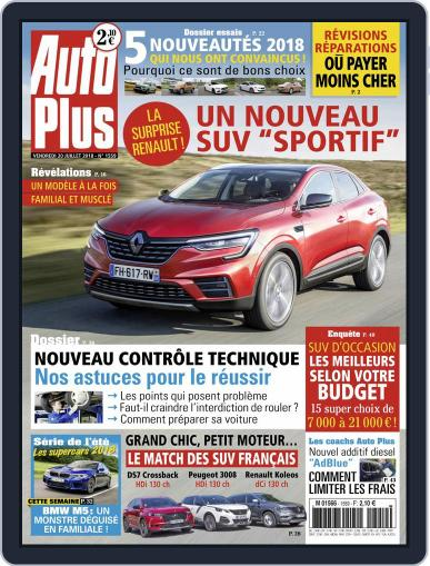 Auto Plus France (Digital) July 20th, 2018 Issue Cover