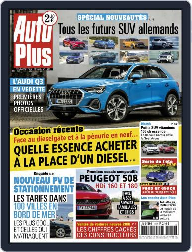 Auto Plus France (Digital) July 27th, 2018 Issue Cover