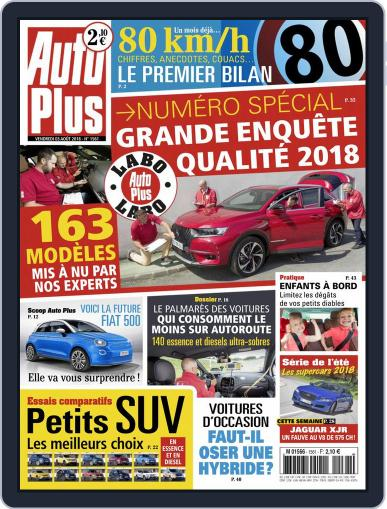 Auto Plus France (Digital) August 3rd, 2018 Issue Cover