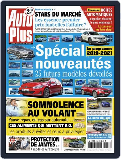 Auto Plus France (Digital) August 10th, 2018 Issue Cover