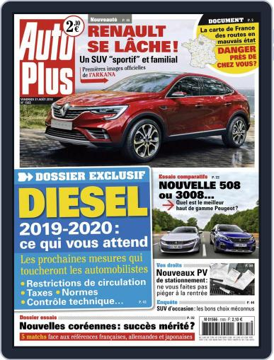 Auto Plus France (Digital) August 31st, 2018 Issue Cover
