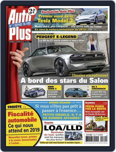 Auto Plus France (Digital) October 5th, 2018 Issue Cover