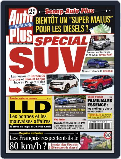 Auto Plus France October 19th, 2018 Digital Back Issue Cover
