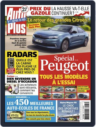 Auto Plus France (Digital) October 26th, 2018 Issue Cover