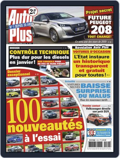 Auto Plus France (Digital) November 2nd, 2018 Issue Cover