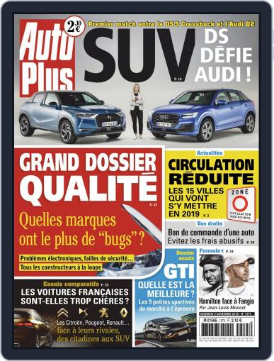 Auto Plus France (Digital) November 9th, 2018 Issue Cover