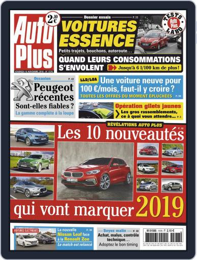 Auto Plus France November 16th, 2018 Digital Back Issue Cover