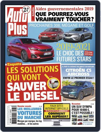 Auto Plus France November 23rd, 2018 Digital Back Issue Cover