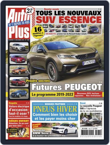 Auto Plus France (Digital) December 14th, 2018 Issue Cover