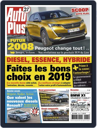Auto Plus France January 11th, 2019 Digital Back Issue Cover