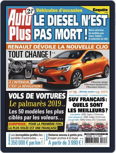 Auto Plus France (Digital) February 1st, 2019 Issue Cover