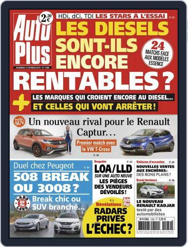 Auto Plus France (Digital) February 15th, 2019 Issue Cover
