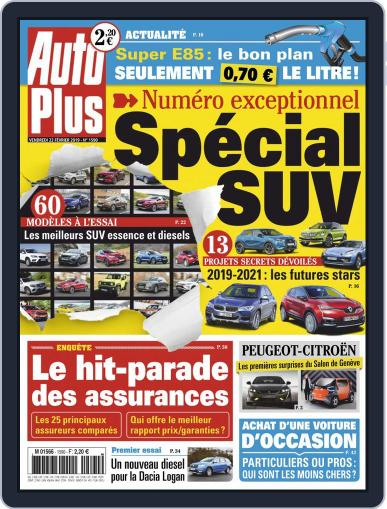 Auto Plus France (Digital) February 22nd, 2019 Issue Cover