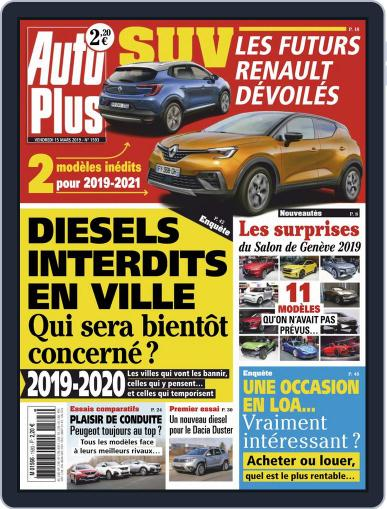 Auto Plus France (Digital) March 15th, 2019 Issue Cover