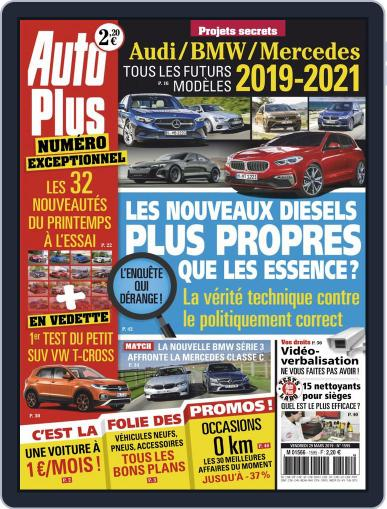 Auto Plus France (Digital) March 29th, 2019 Issue Cover