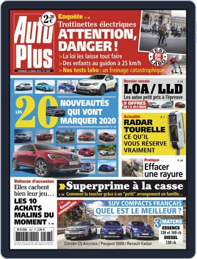Auto Plus France (Digital) April 12th, 2019 Issue Cover
