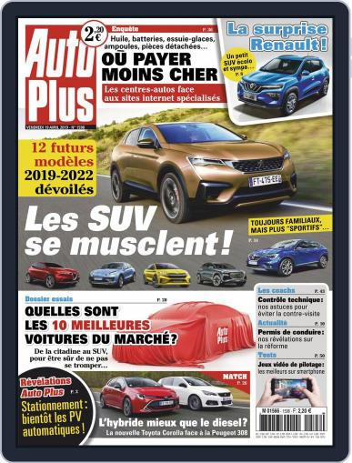 Auto Plus France (Digital) April 19th, 2019 Issue Cover