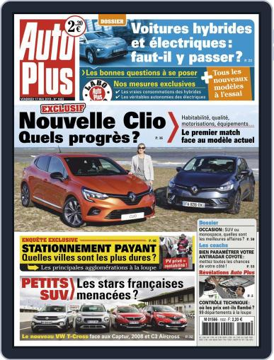 Auto Plus France (Digital) May 17th, 2019 Issue Cover