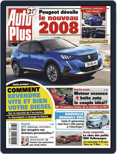 Auto Plus France (Digital) June 21st, 2019 Issue Cover