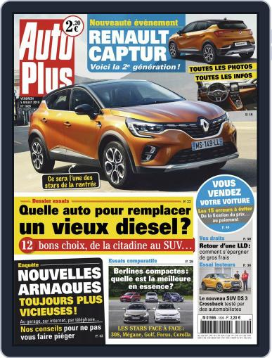 Auto Plus France (Digital) July 5th, 2019 Issue Cover