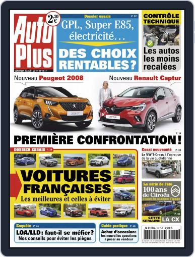 Auto Plus France (Digital) August 30th, 2019 Issue Cover
