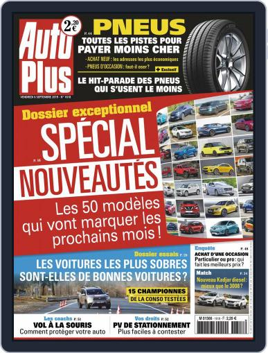 Auto Plus France (Digital) September 6th, 2019 Issue Cover