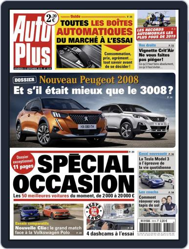 Auto Plus France September 13th, 2019 Digital Back Issue Cover
