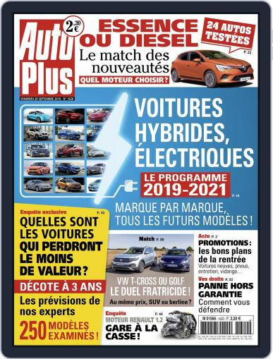 Auto Plus France (Digital) September 20th, 2019 Issue Cover