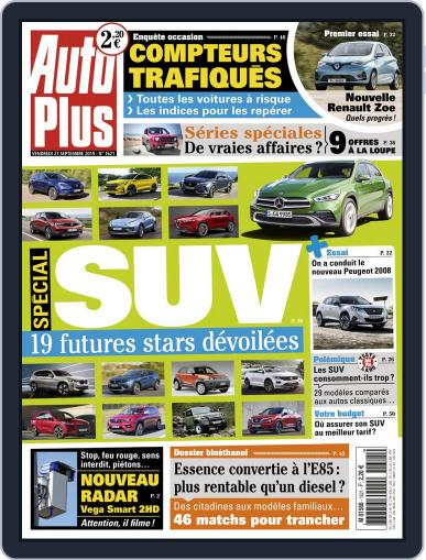Auto Plus France (Digital) September 27th, 2019 Issue Cover