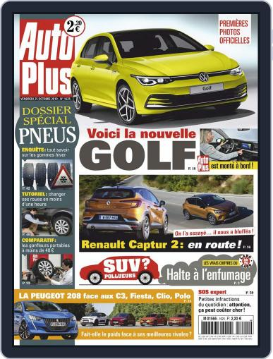 Auto Plus France (Digital) October 25th, 2019 Issue Cover