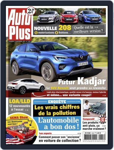 Auto Plus France November 15th, 2019 Digital Back Issue Cover