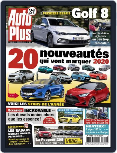Auto Plus France December 13th, 2019 Digital Back Issue Cover