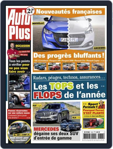 Auto Plus France (Digital) December 20th, 2019 Issue Cover