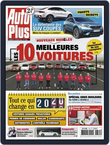 Auto Plus France (Digital) January 3rd, 2020 Issue Cover